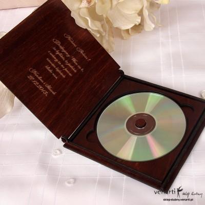 Drewniane etui CD/DVD CD001