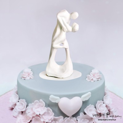 Figurki na tort Para tańcząca
