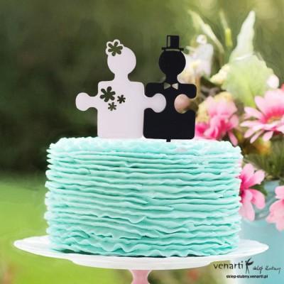 Monogram na tort Puzzle
