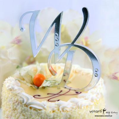 Monogram na tort T002