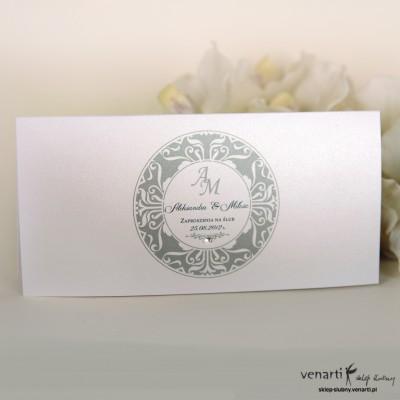 Zaproszenie ślubne składane