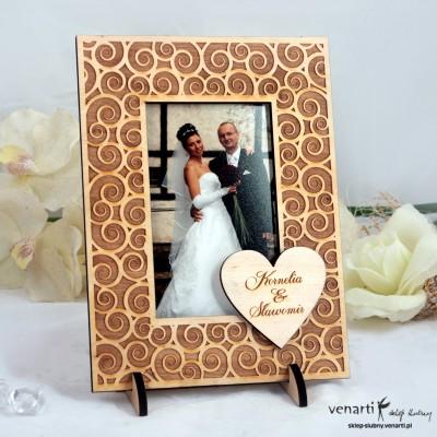 Ślubna ramka na zdjęcia R007