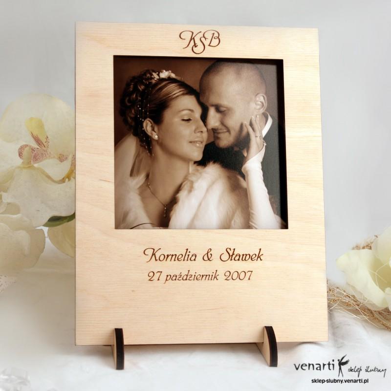 Ślubna ramka na zdjęcia R010