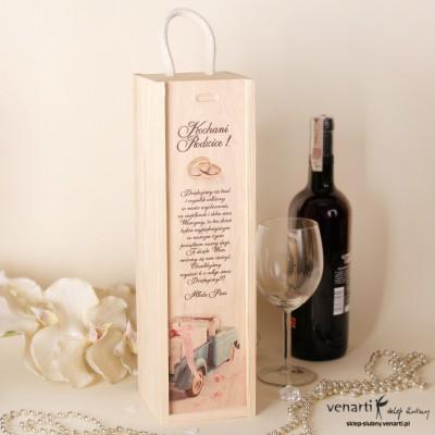 Skrzynka na wino DWM008
