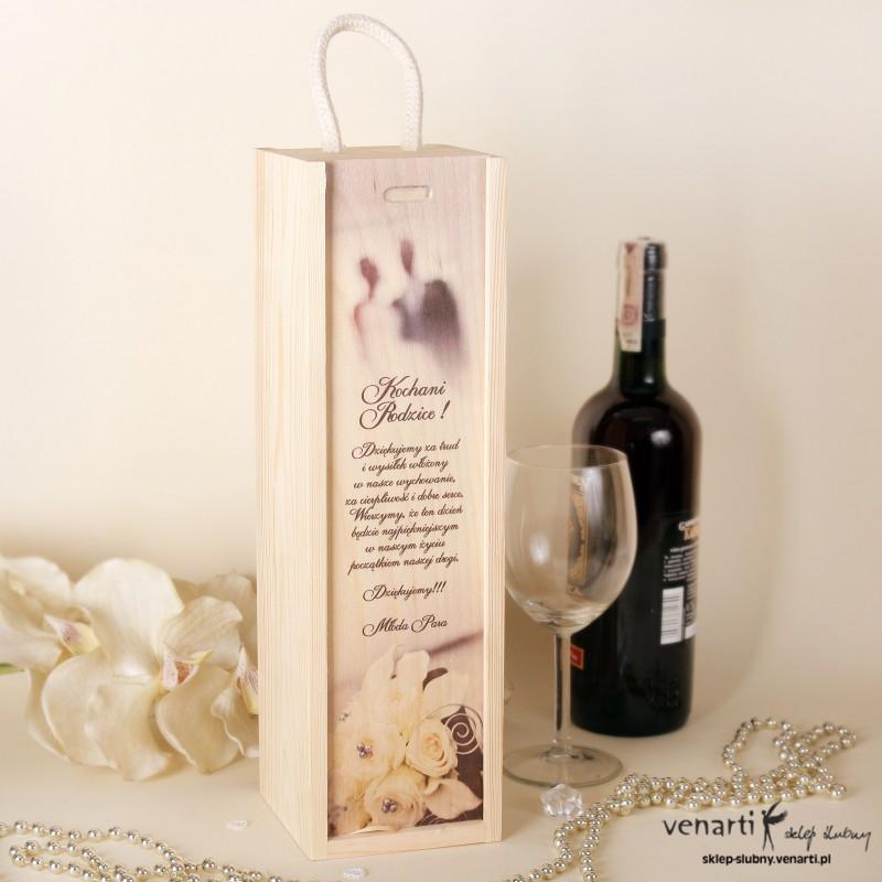 Skrzynka na wino DWM009