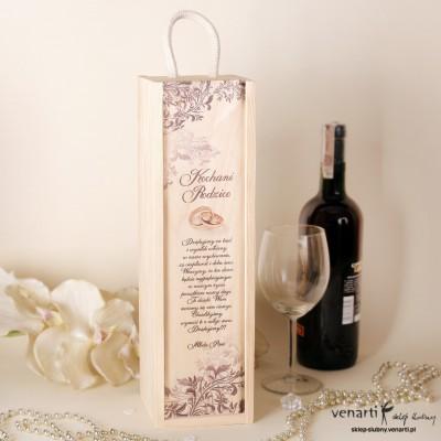 Skrzynka na wino DWM010