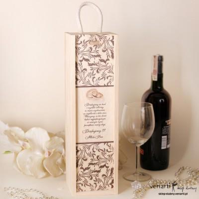 Skrzynka na wino DWM011