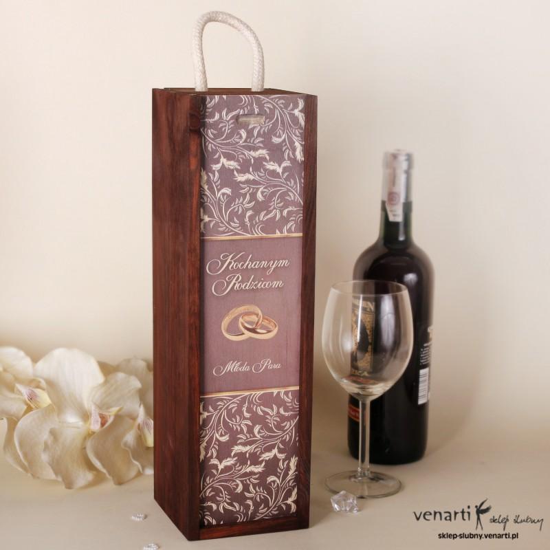 Skrzynka na wino DWM012