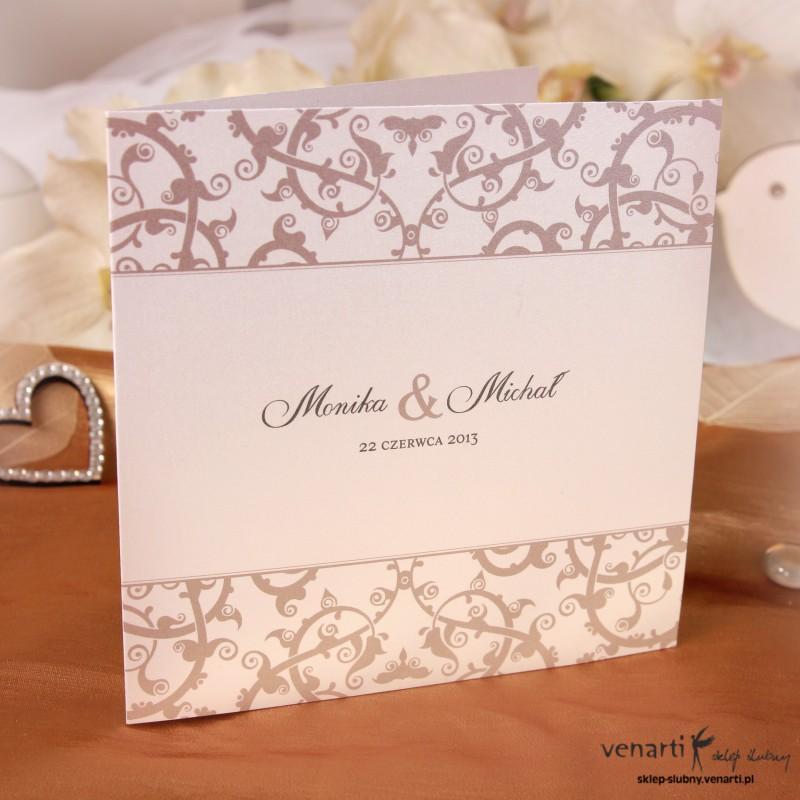 Zaproszenie ślubne K015