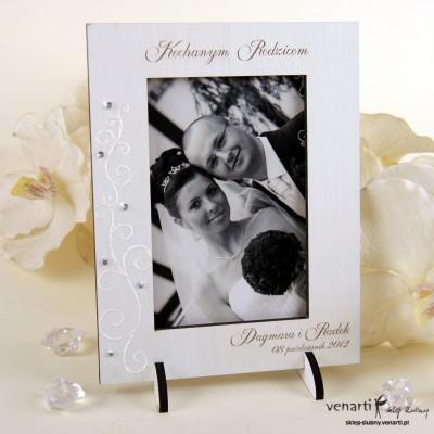 Ślubna ramka na zdjęcia R011