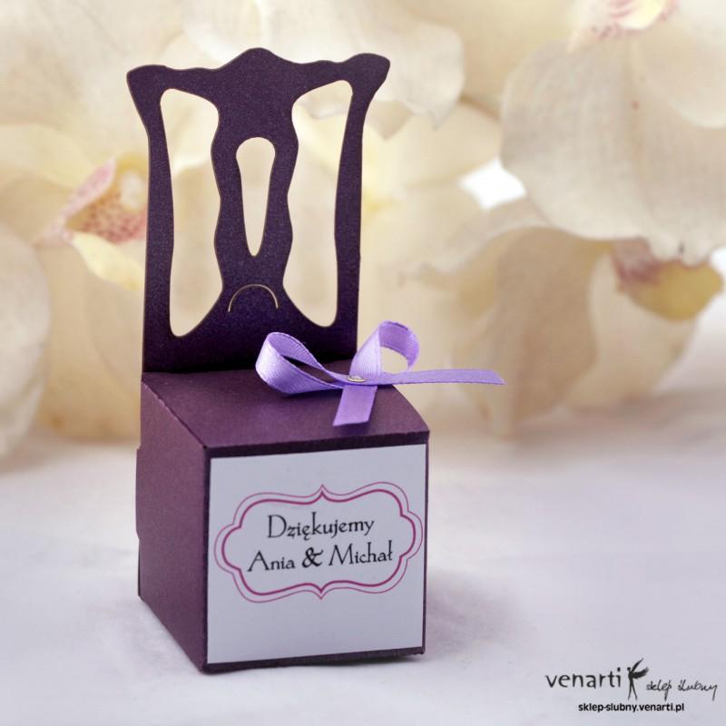 Pudełko dla gości weselnych P001