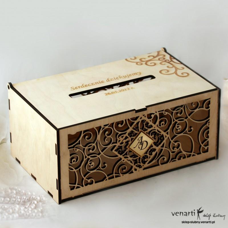Pudełko na koperty, telegramy PUL001