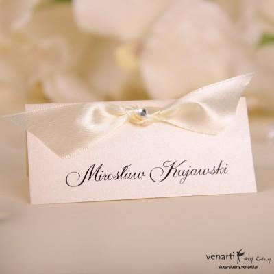 Winietka ślubna na stół W025
