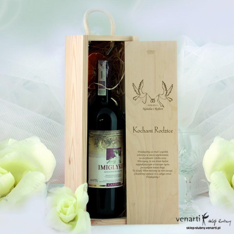 Skrzynka na wino DWM002