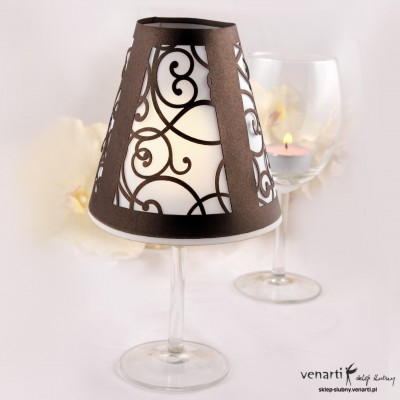 Lampion na kieliszki L001a