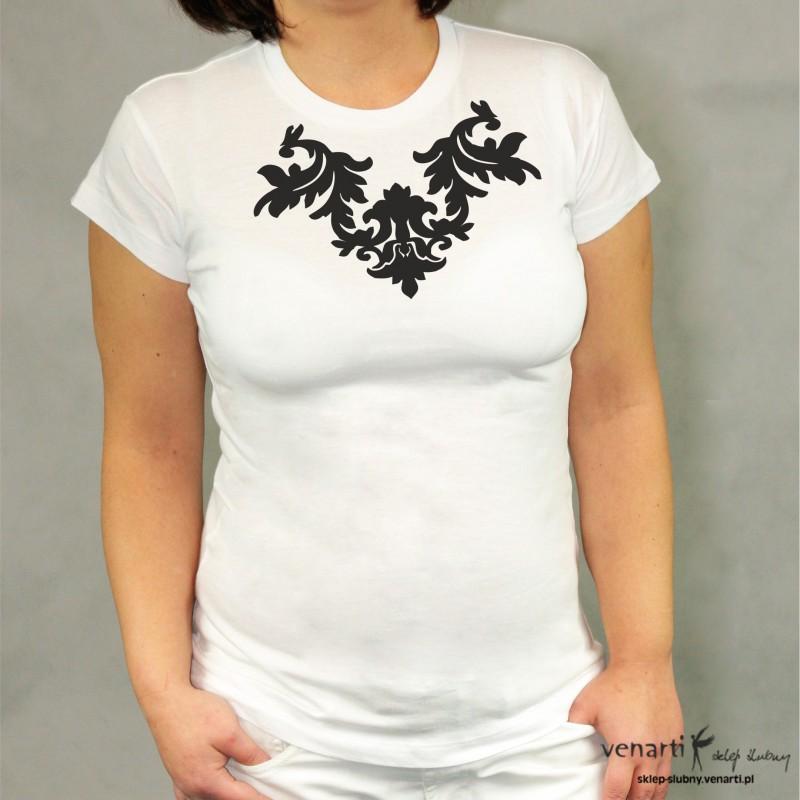 Koszulka ze wzorkiem KOSZ011