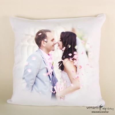 Poduszka ślubna z Waszym zdjęciem