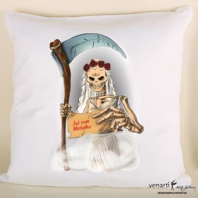 Poduszka z kostuchą