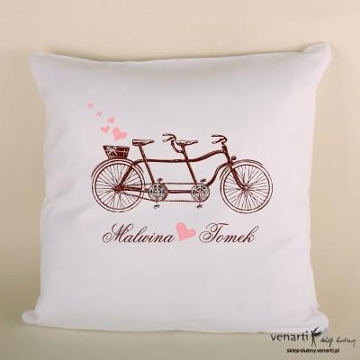 Poduszka z rowerem