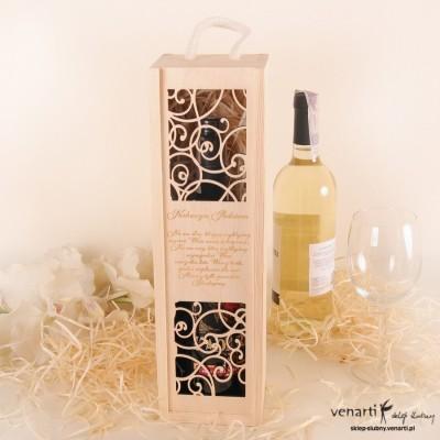 Skrzynka na wino DWM014