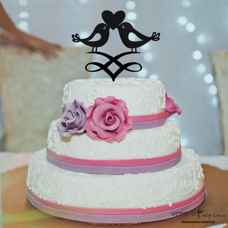 Figurki na tort Ptaszki