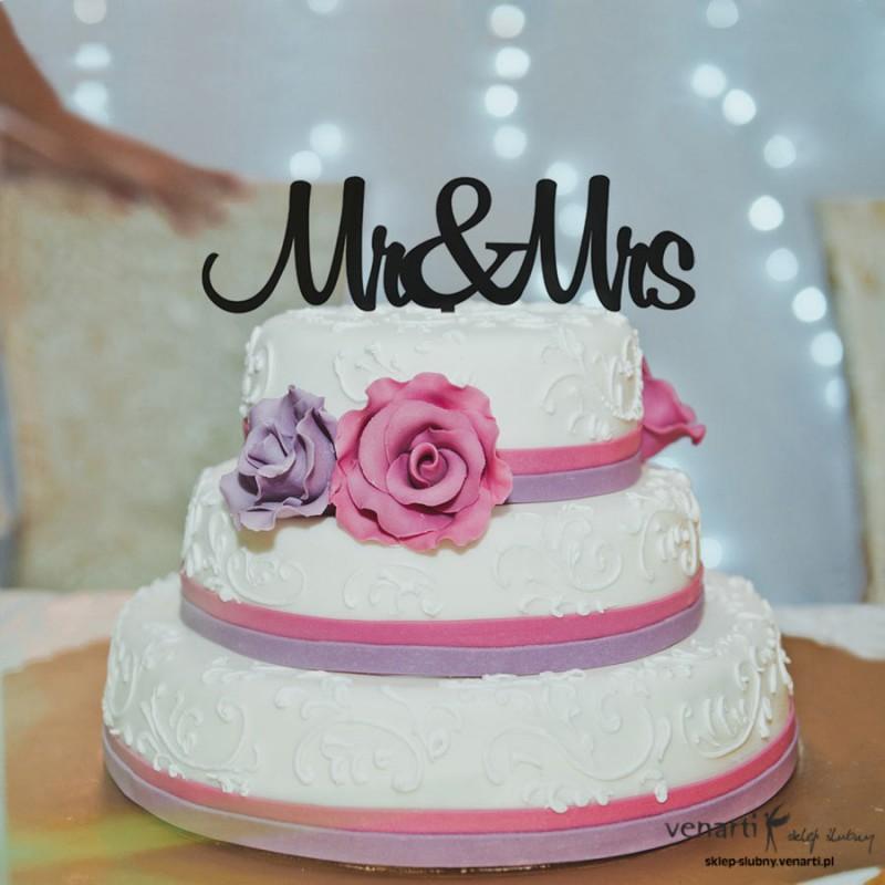 Monogram na tort T012