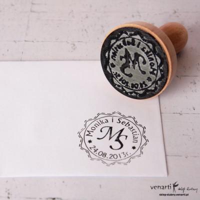 Pieczęć tradycyjna R60 Własny projekt