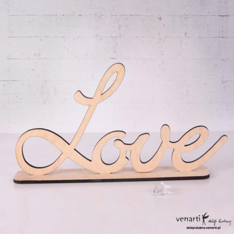 Litery na stół LOVE