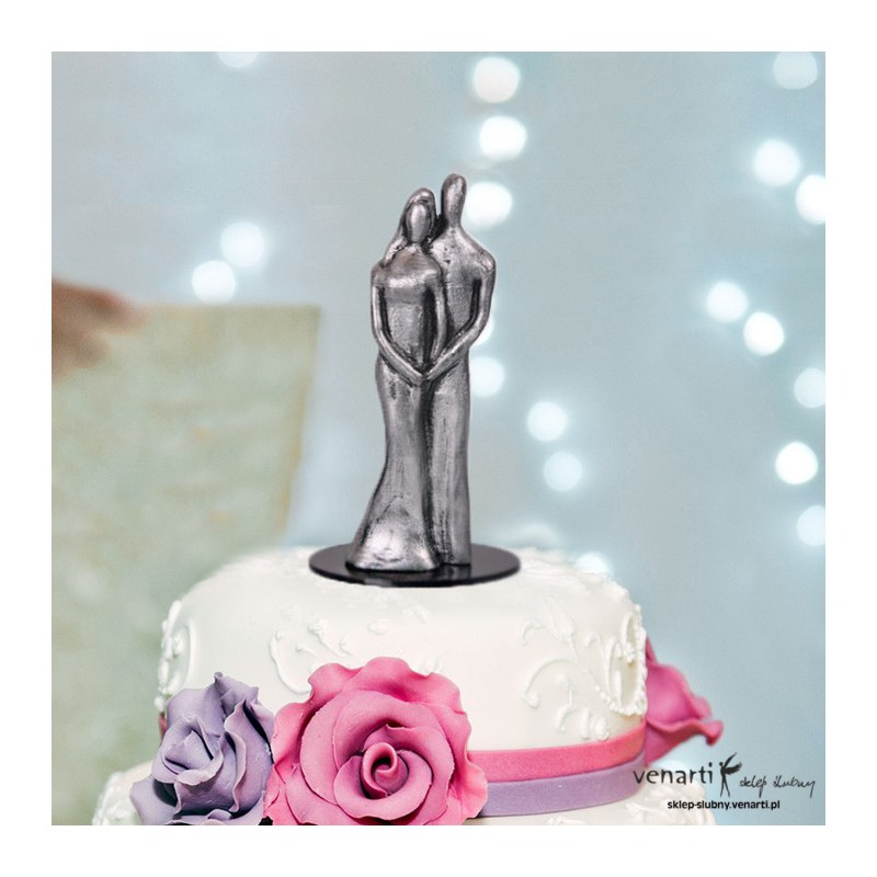 2383b5de7b9d4a Figurki na tort para młoda różne kolory (1002) - Sklep ślubny Venarti