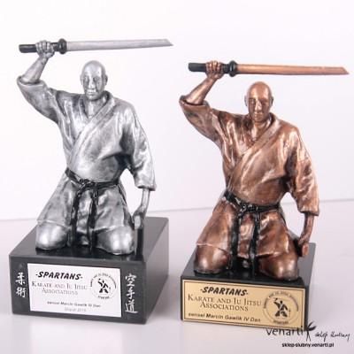 Figurka Karate - projektowanie 3D - Figurki na zamówienie