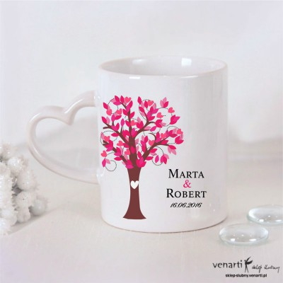 Kubek Drzewo róż