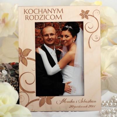 Ślubna ramka na zdjęcia R002