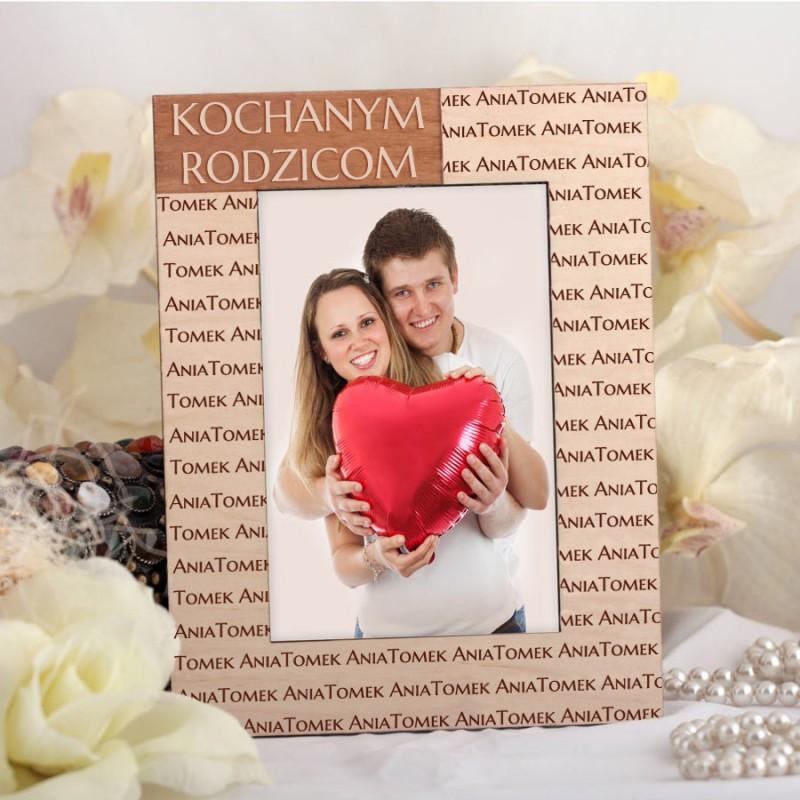 Ślubna ramka na zdjęcia R001