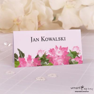 Winietki ślubne Kwiaty W065