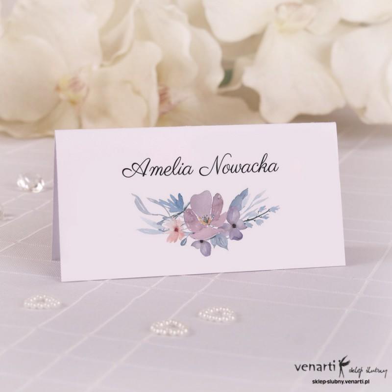 Kwiaty Winietki ślubne W068