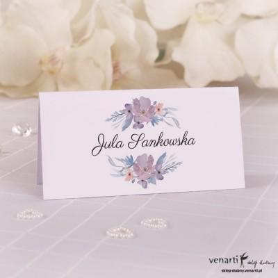Kwiaty Winietki ślubne W069