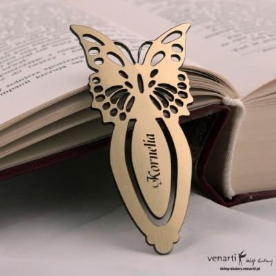 Zakładka do książki motyl Zak001
