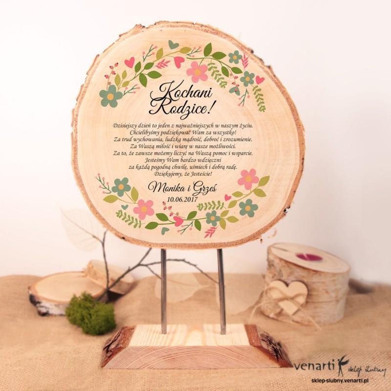 Ślubna statuetka Wianek kwiatów