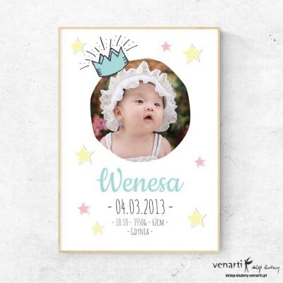Księżniczka plakat ze zdjęciem