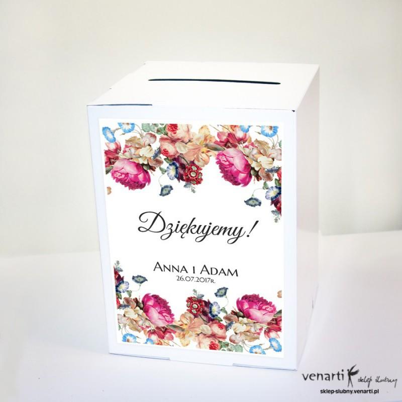 Eko kwiaty Pudełko na koperty