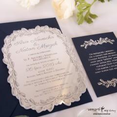 Zaproszenia ślubne lustrzane