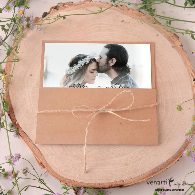 Zaproszenia ślubne Z Waszym Zdjęciem 1878 Sklep ślubny Venarti