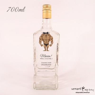 Butelka whisky, wódkę: Czy zostaniesz moim świadkiem?