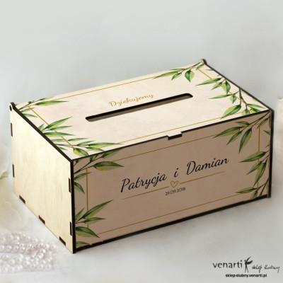 Eukaliptus Pudełko na koperty, telegramy