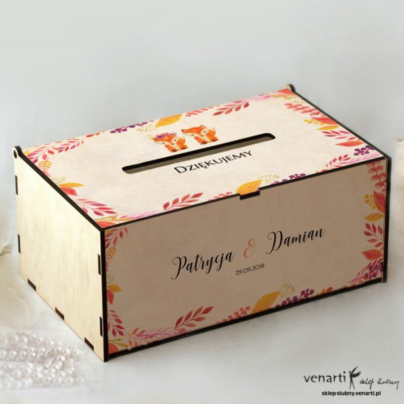 Lisy Pudełko na koperty, telegramy