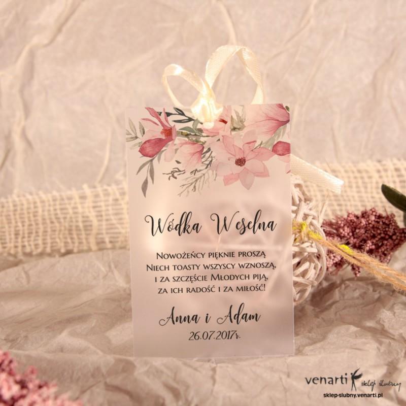 Magnolie Zawieszki ślubne przezroczyste