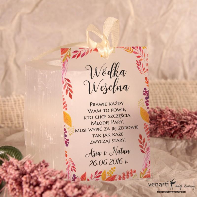 Lisy Zawieszki ślubne przezroczyste
