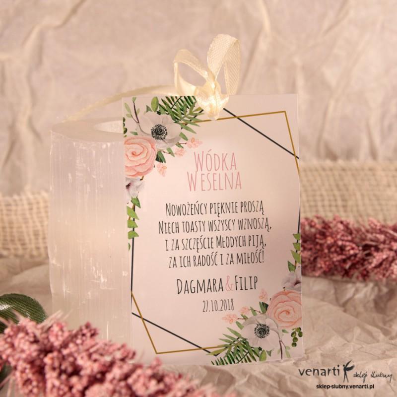 Anemone Zawieszki ślubne przezroczyste