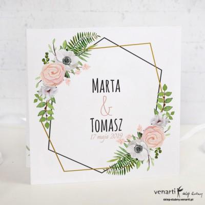 Anemone Zaproszenia ślubne