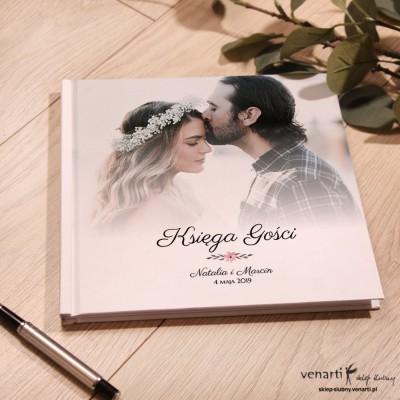 Ślubny, biały album, księga gości z Twoim zdjęciem